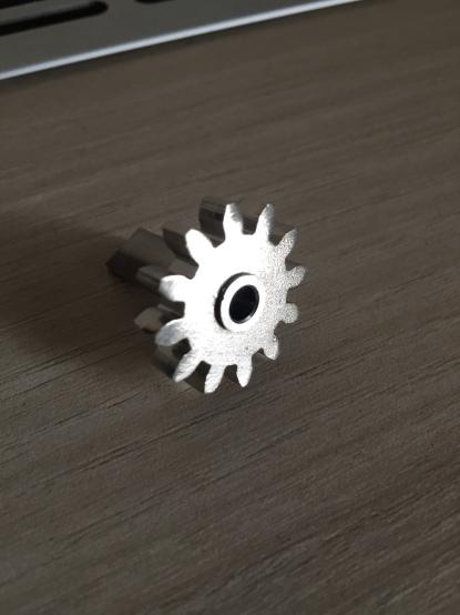 Ozubený díl s osičkou